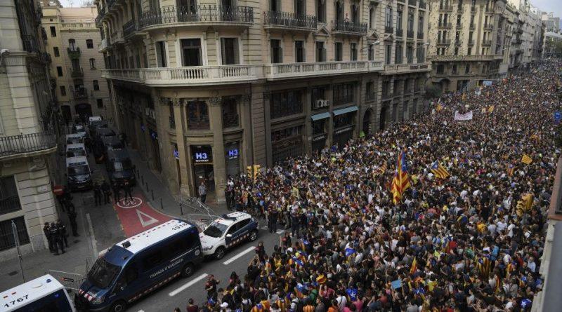 Las medidas del Gob. Español el día del Referendum de Cataluña
